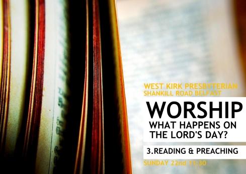 Worship Series Continues... Preaching